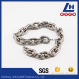 Catena a maglia saldata dell'acciaio inossidabile ASTM80