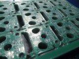 백색 스크린을%s 가진 PCB 회로 녹색 땜납 가면 2layer