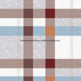 100%Polyester Classic Plaid Pigment&Disperse Printed Fabric for Bedding Set