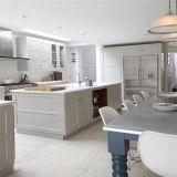 Подгонянная профессионалом мебель кухни роскошного классицистического итальянского типа резиновый деревянная