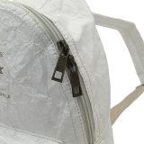 白い小型の洗浄されたクラフト紙のバックパック袋(16A090)