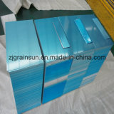 Алюминиевый лист 5052 H32 с голубой пленкой PE