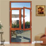 Guangzhou-Fabrik-Fenstertür-Abmessungs-Holz senkt Fenster-Entwürfe in Kerala