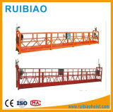 Het hoge Venster die van de Stijging Opgeschort Platform met de Kabel van de Draad schoonmaken