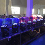 9X10W RGBW LED Mini Moving Head Matrice d'éclairage d'étape