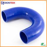 Гибкий шланг трубы локтя силиконовой резины 180 градусов