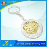 Encadenamiento dominante modificado para requisitos particulares del metal de la aleación del cinc del precio de fábrica con cualquie diseño de la insignia para la promoción/el recuerdo