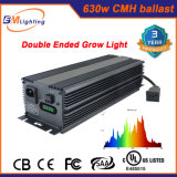 Les HP de 630W terminés par double CMH 600W élèvent les nécessaires légers pour le système de culture hydroponique