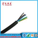 Câble souple de cuivre de gaine de PVC de conducteur de Sqmm de faisceau de Rvv 5