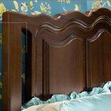 Amerikanisches Art Wau Buche-festes Holz-Bett für Schlafzimmer-Gebrauch (AS821B)
