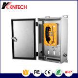 Koontech IP66の緊急の電話安定した品質の強いトンネルの電話