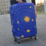 Protege contra daños del equipaje del viaje personalizado equipaje La tapa Spandex