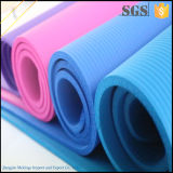 Couvre-tapis commercial 10mm de yoga de l'assurance NBR pour des débutants