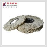 Roda de polimento de sicário de corda para lixar aço inoxidável