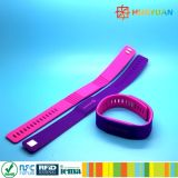 C ISO14443A MIFARE 고전적인 4K 튼튼한 실리콘 RFID 소맷동 팔찌