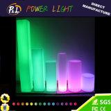 Lámpara del pilar de la iluminación LED de la decoración del partido que brilla intensamente y de la boda
