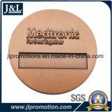 Moneta d'ottone del metallo dell'oggetto d'antiquariato di disegno del cliente