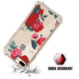 Случай крышки TPU PC цветка тонкий противоударный трудный Bumper Царапать-Упорный на iPhone 7 добавочное