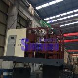 Carvão amassado da escória da fábrica de aço que faz a máquina