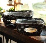 (BC-WF1030) respetuoso del medio ambiente natural hecho a mano del sauce cesta de la flor