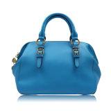 Borsa blu di modo per le collezioni degli accessori delle donne