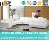 Sofá secional do couro Best-Selling da sala de visitas do projeto moderno (HC1024)