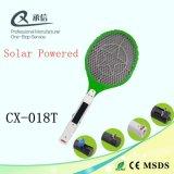 普及した太陽動力を与えられたカのはえのキラーSwatter、再充電可能な昆虫のバグZapperの屋内中国の工場