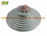 hardware industriale del tamburo per cavi del portello del garage di pollice 4X13