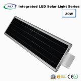 30W PIRセンサー統合されたLEDの太陽庭ライト