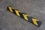 Protezione d'angolo del blocco per grafici quadrato di gomma nero & giallo