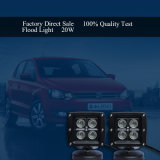 trabalho do diodo emissor de luz do CREE da lâmpada do diodo emissor de luz 20W barra clara do auto para a motocicleta do caminhão