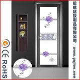 Auto-adhésif Flat PVC Shower Door Decorative Film