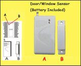 De elegante Draadloze Elektronische het Openen Sensor van de Deur voor GSM het Systeem van het Alarm