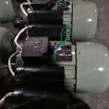 motor asíncrono monofásico de la CA Electirc de dos condensadores 0.37-3kw para el uso agrícola de la máquina, OEM y Manufacuring, negocio