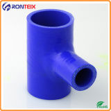 Tuyau de radiateur flexible en silicone en forme de T
