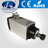 Motor refrescado aire del eje de rotación del motor 4.5kw del eje de rotación, 18000rpm