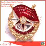 Divisa del metal con la insignia Hard Enamel Company para la promoción