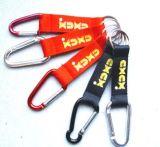 Carabiner reso personale Keychains con il marchio personalizzato