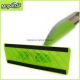Mop dello spruzzo, 2 ruspa spianatrice di Alu Palo/Microfiber/EVA Foam/PP delle sezioni
