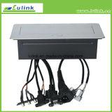 유형 2 바탕 화면 소켓이 HDMI+USB+VGA+2*Cat5e+3.5mm+Power+RCA 케이블에 의하여, 갑자기 나타난다