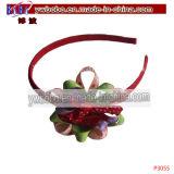 De Toebehoren van het Haar van de Decoratie van het haar Geplaatst de Beste Gift van Kerstmis (P3055)