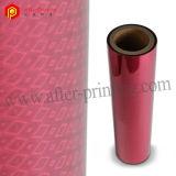 Pellicola olografica metallizzata laminazione termica dei reticoli BOPP per l'imballaggio del regalo