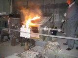 Forno de derretimento de indução de metal de pequeno tamanho manual