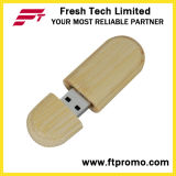 Estilo de madeira e bambu Unidade Flash USB para Eco-Friendly
