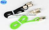 2 en 1 cable del USB