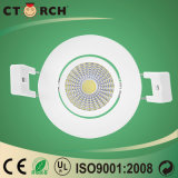 Nuova LED Downlight PANNOCCHIA spessa eccellente messa 7With9With23W di Ctorch 2017