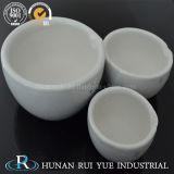 L'argilla refrattaria di ceramica coppella l'analisi Cupeles del laboratorio dell'oro