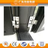 Porte en aluminium de tissu pour rideaux de modèle moderne avec la maille de garantie