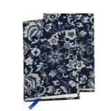 Notebook Hardcovered Tecido de tamanho personalizado