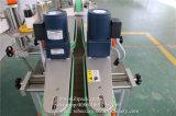 La Plaza de etiquetado automático de la botella de aceite fabricante de máquinas en el vaso de varios lados